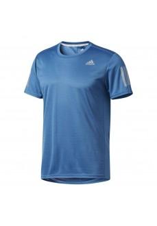 Camiseta de running Adidas Azul