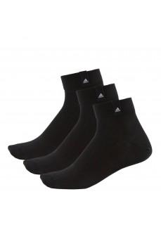 Calcetines medio Adidas Pack 3 Negro/Negro/Blanco