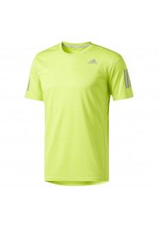 Camiseta de running Adidas fluorescente