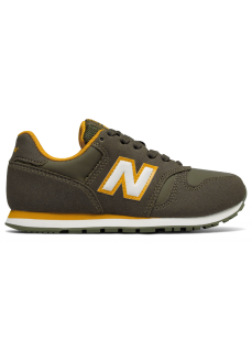 Zapatillas New Balance Lifestyle Cordon Junior Verde Oliva