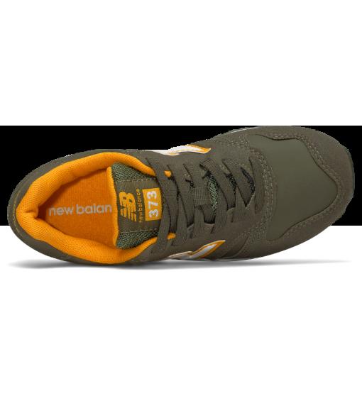 New Balance Lifestyle Cordon Junior Olive-Green Trainers   Low shoes   scorer.es