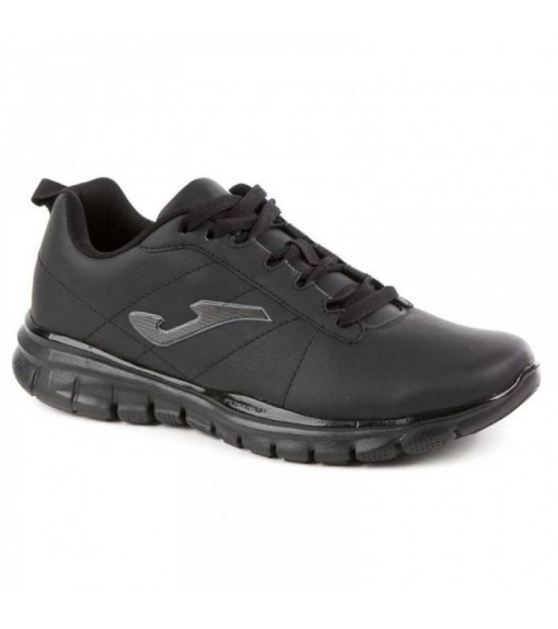 Joma Tempo Black Leather Trainers | Running shoes | scorer.es