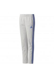 Pantalón largo Adidas Gris/Azul