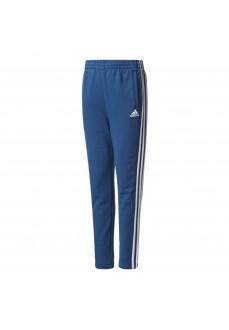 Pantalón largo Adidas Azul/Blanco