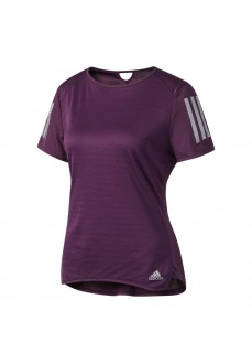 Camiseta de running Adidas morada
