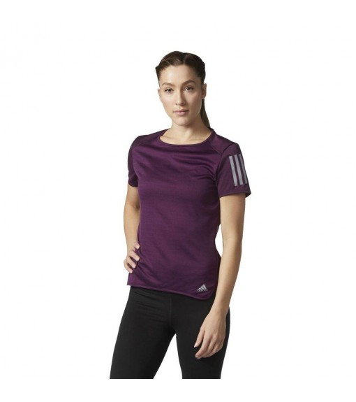 Adidas Purple Running T-Shirt | Running T-Shirts | scorer.es