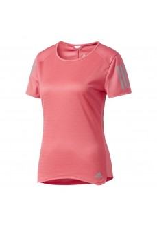 Camiseta Adidas running rosa