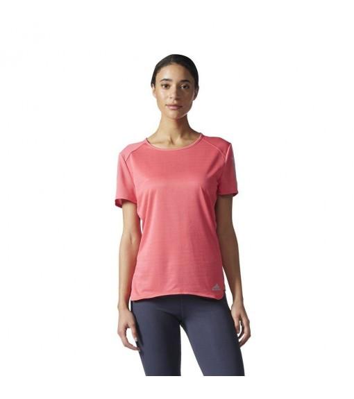 Adidas Pink Running T-Shirt | Running T-Shirts | scorer.es