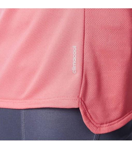 Camiseta Adidas running rosa | scorer.es