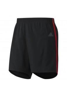Pantalón corto Adidas Negro/Naranja