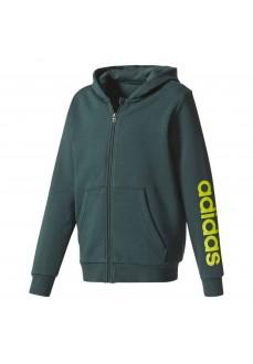 Sudadera Adidas con capucha Verde