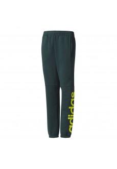 Pantalón largo Adidas Verde/Amarillo