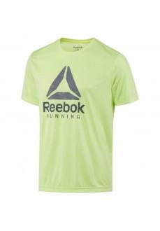 Camiseta de running Reebok Amarillo