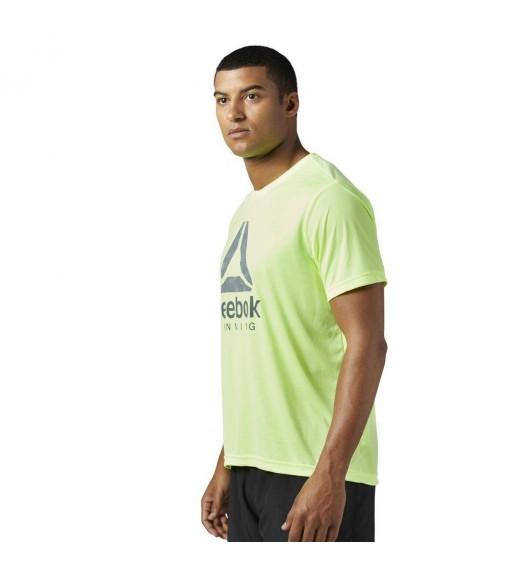 Reebok Yellow Running T-Shirt | Running T-Shirts | scorer.es