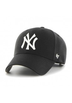 Gorra New York Yankees 47 Brand Negro/Blanco B-MVP17WBV-BK | scorer.es
