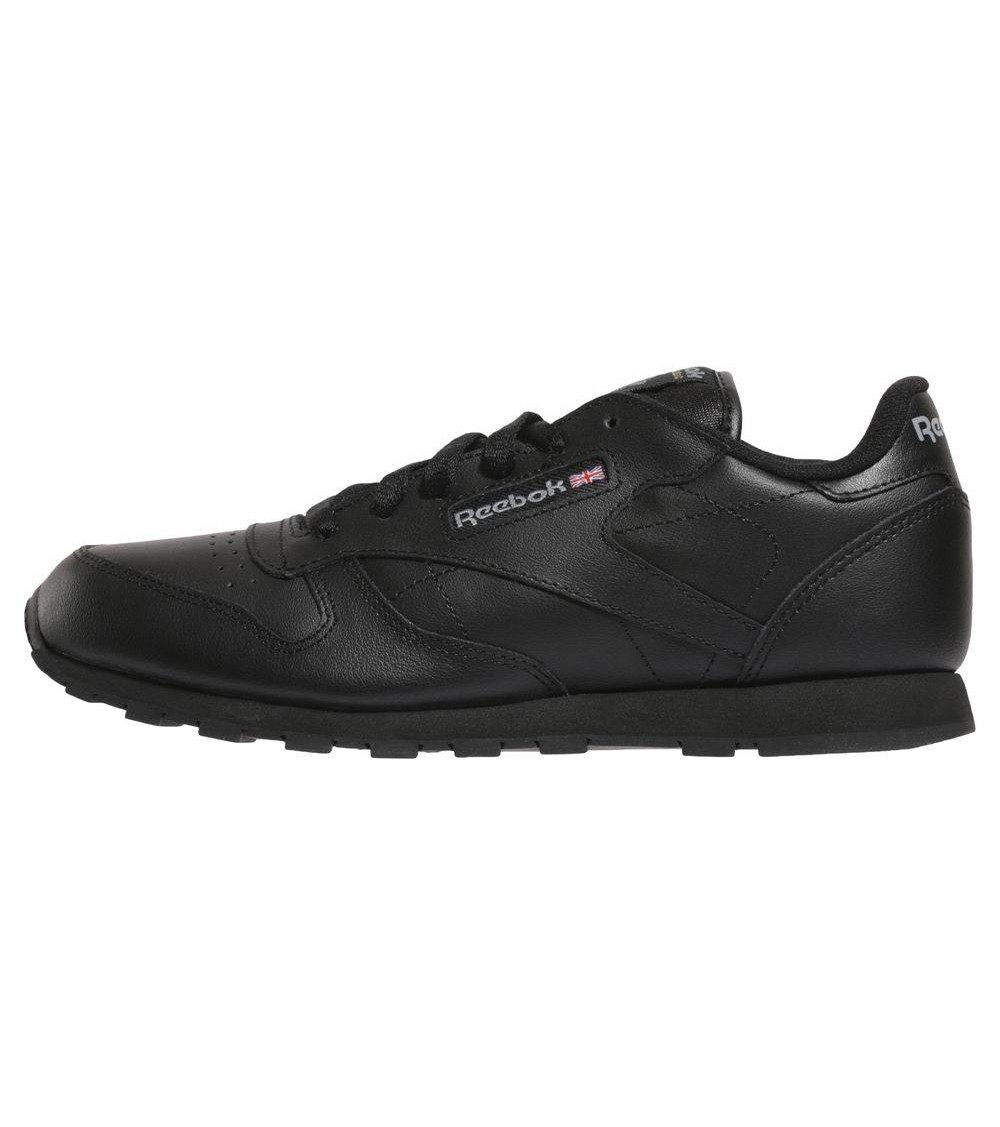 ba80411bd REEBOK Zapatillas Reebok Classic Leather Negro NIÑO A 50149