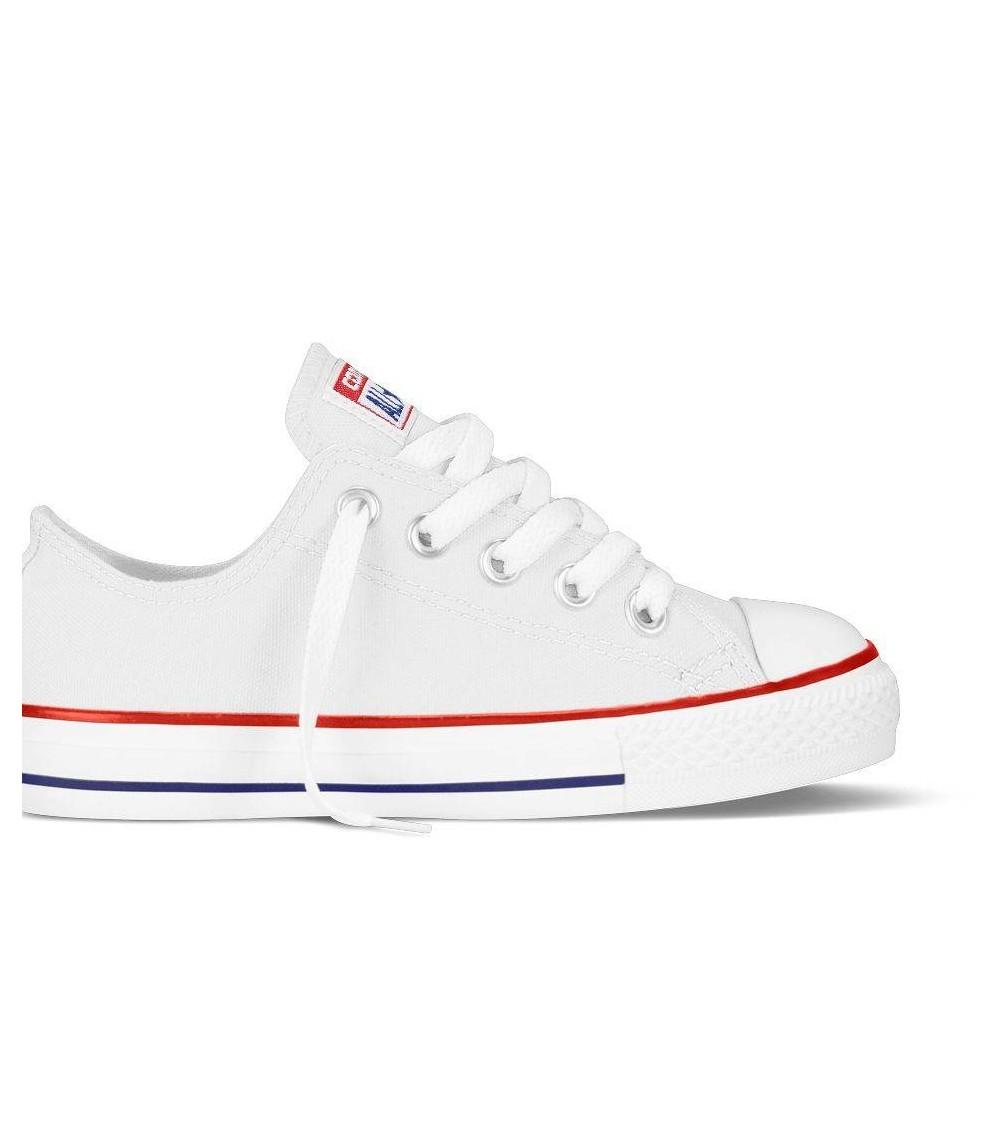 Converse - Zapatillas Niños-Niñas , color Blanco, talla 31,5