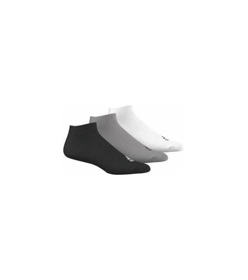 Calcetines bajos Adidas Negro/Gris/Blanc Pack 3 | scorer.es