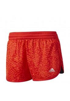 Pantalones cortos de fitness Adidas Dash Knit Printed Naranja