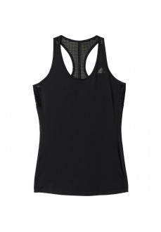 Camiseta de tirantes Adidas Athletic Negro