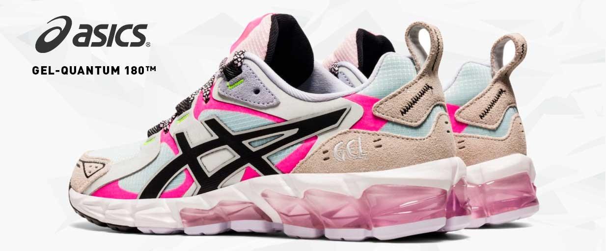 Zapatillas Mujer Asics Gel Quantum 180 Varios Colores 1202A124-400