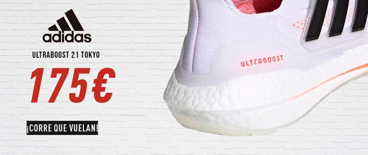Zapatillas Hombre Adidas Ultraboost 21 Tokyo S23863