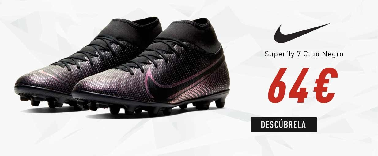 Zapatillas Hombre Nike Superfly 7 Club Negro AT7949-010