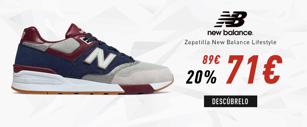 Zapatilla New Balance Lifestyle ML597 GNB